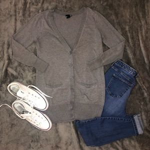 H&M button down cardigan